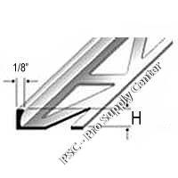 Dural Durosol Square Edge Profile PVC Beige