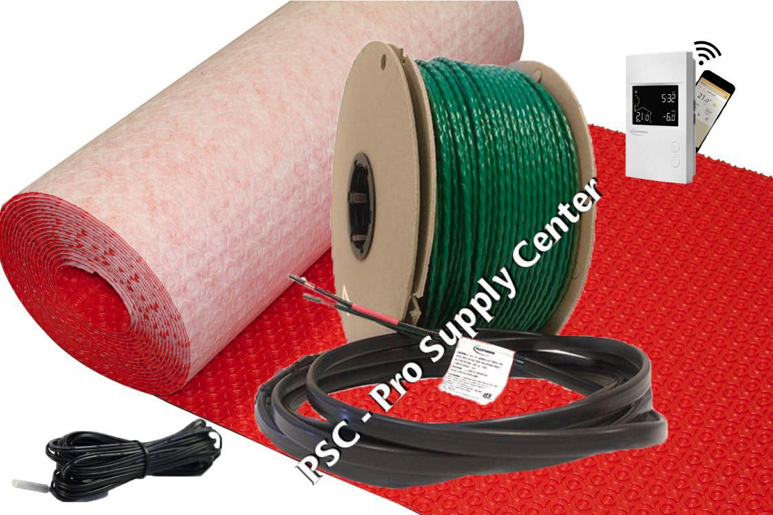 Schluter Ditra Heat 240v Heating Cables Psc Pro Supply