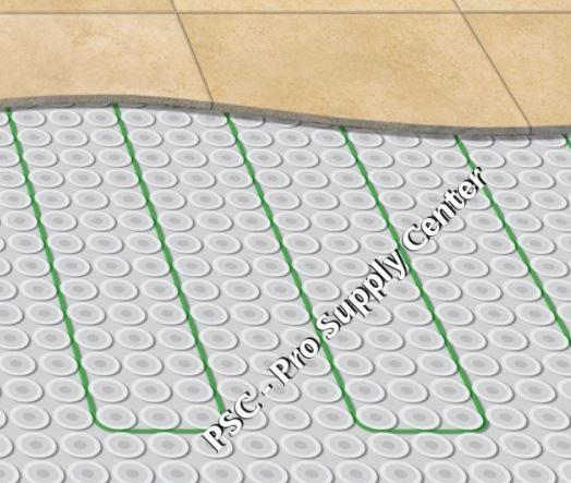Flextherm Green Cable Surface Xl 120 Vac Radiant Floor