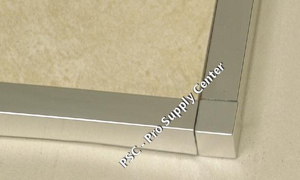 Square Edge Tile Trim In Anodized Aluminum Psc Pro