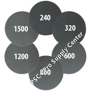 Jost SG pads grits 240 - 1500