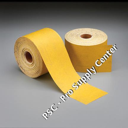 Norton Gold PSA Sheet Roll 2 3 4 Inch 20 Yards 80 Grit