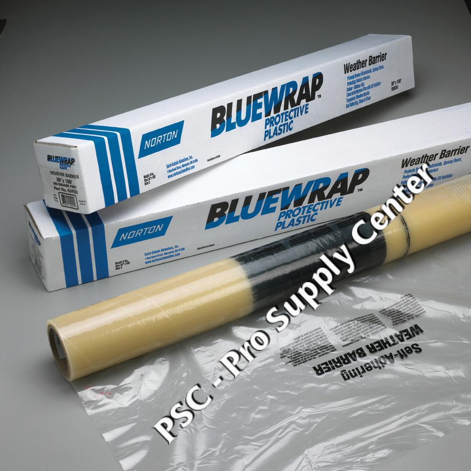 Norton Blue Wrap Protective Plastic Barriers And Covers