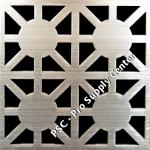 PSC Pro Stainless Steel Drain Grate Cover - Asterix Design