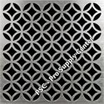 PSC Pro Stainless Steel Drain Grate Cover - Lattice Design