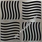 PSC Pro Stainless Steel Drain Grate Cover - Swirl Design