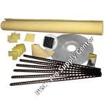 Pro Advanced Custom Tile Mud Kit up to 30 x 60 Center in PVC or ABS