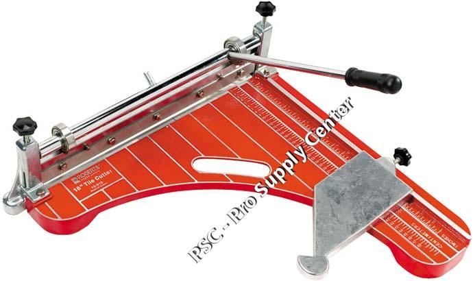 10 918 18 Inch Vinyl Tile Cutter By Roberts