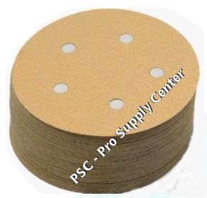 50 Piece 5 Inch Grit 40-1500 Hook /& Loop Wet dry sandpaper sanding disc for wood