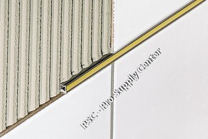 Schluter DILEX EZ 6   9 Decorative   Movement Joint Profiles