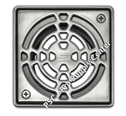 Kerdi Shower Drain Stainless Steel