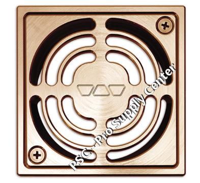 Kerdi Shower Drain Brushed Copper / Bronze