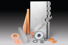 Schluter Systems 48 x 48 Inch Kerdi Shower Kit