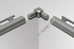 Double-leg Inside Corner for Schluter RONDEC - Anodized Aluminum