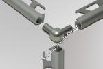 Double Leg Outside Corner for Schluter RONDEC - Anodized Aluminum
