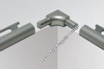 Sink Corner for Schluter RONDEC - Stainless Steel