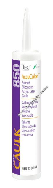 Tec Accucolor Siliconized Acrylic Latex Caulk Sanded Or