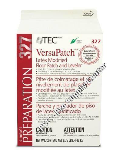 Tec 327 Versapatch Latex Modified Floor Patch And Leveler