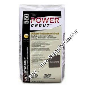 Tec Power Grout Ta 550 10 Lb Bag Psc Pro Supply Center