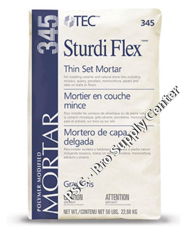 Tec Sturdi Flex Latex Modified Thin Set Mortar 50 Lbs