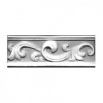 Ceramic Breeze Pattern Rail Accent Tiles 2 75 x 8 Inches