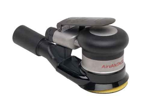 Palm Style 3 Inch Central Vacuum Random Orbital Sanders by AirVantage