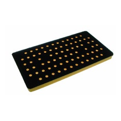 3 2 3 x 7 Inch Many Hole Screen Abrasive Back Up Pads by AirVantage