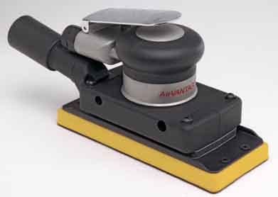 Palm Style 3 x 7 Inch Central Vacuum Random Orbital by AirVantage