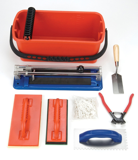 Ceramic Tile Complete Installation Kit by Barwalt Tools