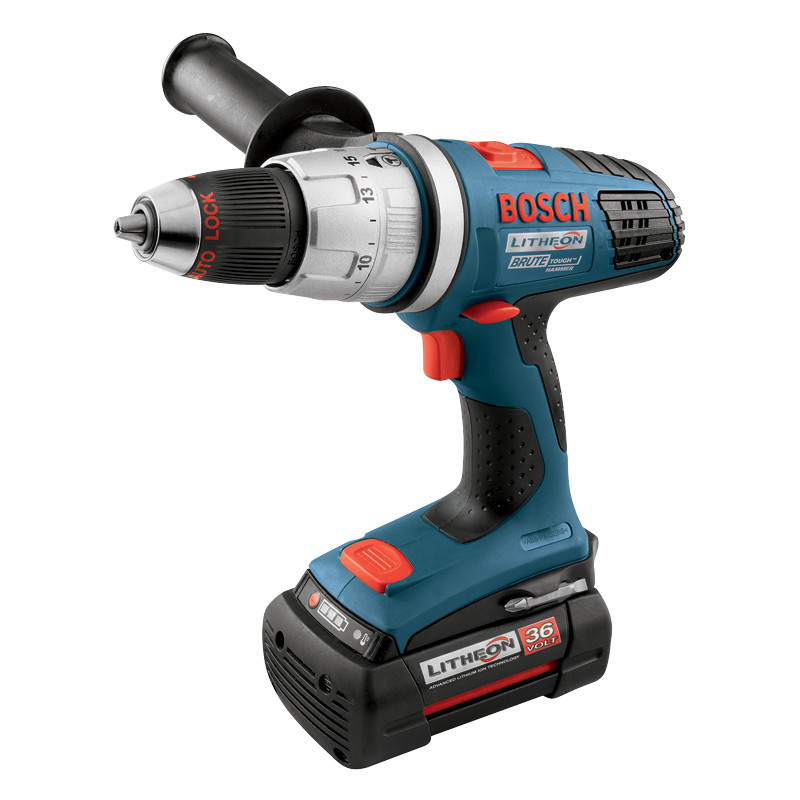 18636-03 36V  Brute Tough 1 2 Inch Hammer Drill Driver Set by Bosch