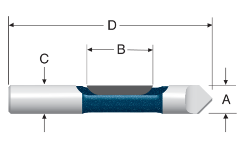 Pilot Panel Bits with Drill-Through Point - Single Flute by Bosch