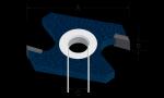 Bosch 85505M 2 Wing Slotting Cutters