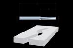 Bosch 85611M Solid Carbide Double Flute Acrylic Bit