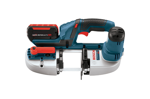 18V Compact Band Saw with 2 FlatPack Batteries by Bosch