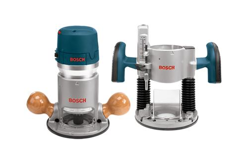 1617EVSPK 2 25 HP Combination Plunge and Fixed Base Router Pack by Bosch