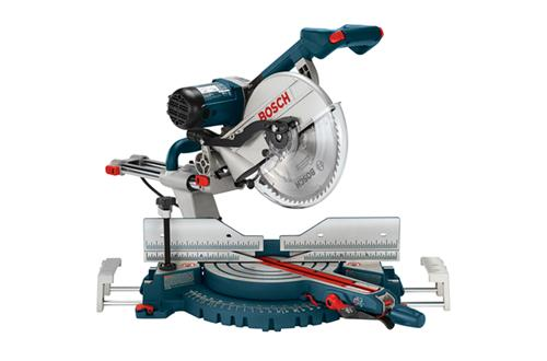 5312 12 Inch Dual-Bevel Slide Miter Saw With Upfront Controls by Bosch