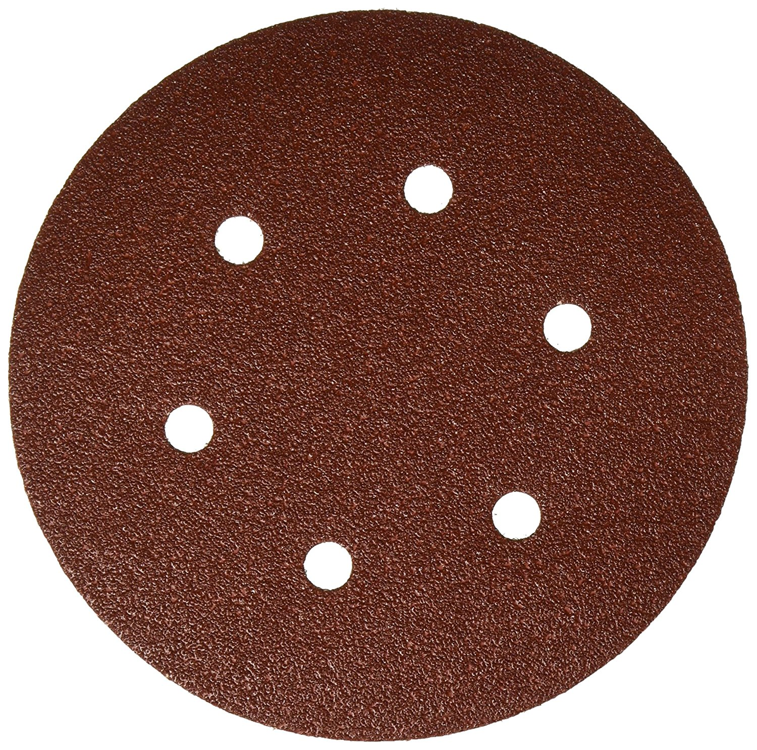 6 Inch 6 Hole Hook and Loop Wood Sanding Discs 25 Pack by Bosch
