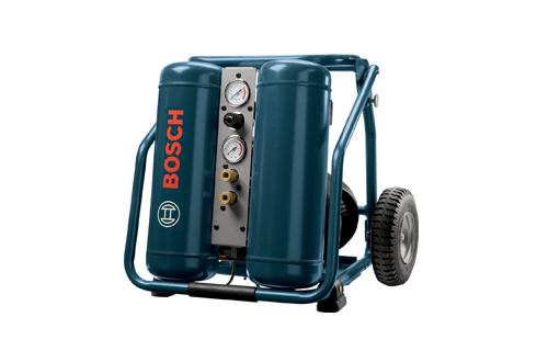 CET4-20W 4 Gallon Electric Hand Carry Compressor with Wheels by Bosch