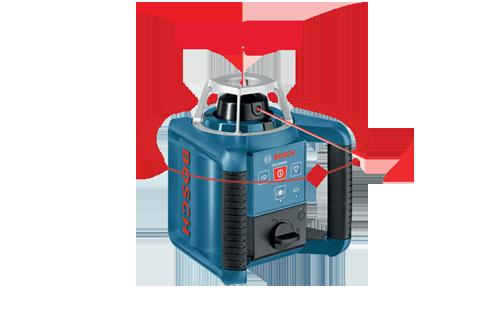 GRL300HV Self Leveling Rotary Laser with Layout Beam by Bosch