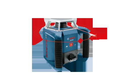 GRL400H Self Leveling Rotary Laser with Laser Receiver by Bosch