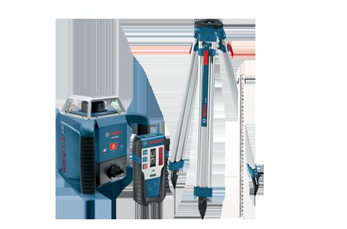 GRL400HCK Self Leveling Rotary Laser Complete Exterior Kit by Bosch