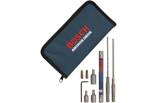 HC2309 SDS-Plus Bulldog Tapcon Hex Drive Accessories and Kit by Bosch