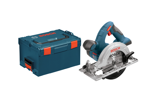 18V Lithium-Ion 6-1 2 Circular Saw with L-Boxx3 by Bosch