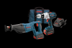 Bosch 18V 2 Tool Kit with Brute or Compact Tough Hammer Drill Driver