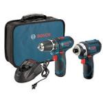 Bosch 12V Cordless Litheon Max Combo Tool Kits