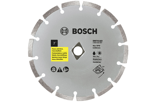 7 Inch Segmented Rim Diamond Blade DKO by Bosch