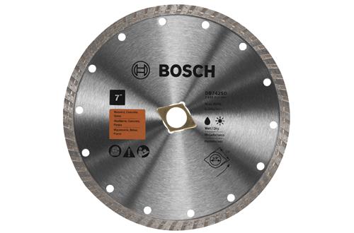 DB742SD 7 Inch Standard Turbo Rim Diamond Blade with DKO by Bosch