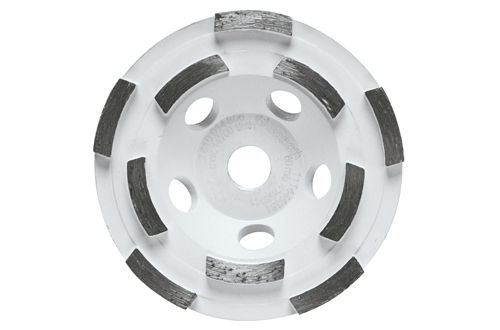DC410H 4 Inch Double Row Segmented Diamond Cup Wheel by Bosch