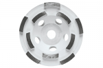 Bosch DC410H 4 Inch Double Row Segmented Diamond Cup Wheel