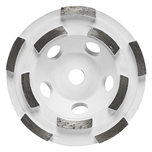 DC4510H 4 5 Inch Double Row Segmented Diamond Cup Wheel by Bosch